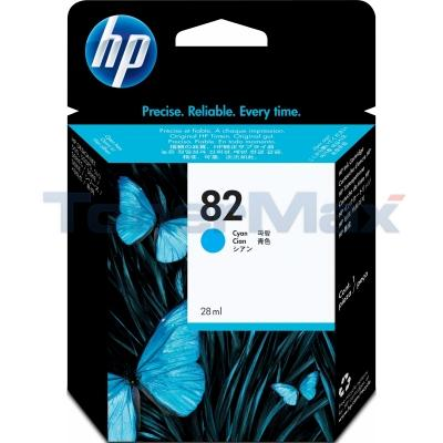 HP NO 82 INK CYAN 28ML